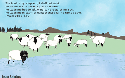 Parable of the Lost Sheep Bible Story Summary