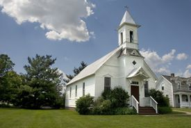 Rural Church in Wisconsin