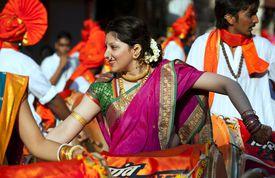 Marathi New year Celebration.