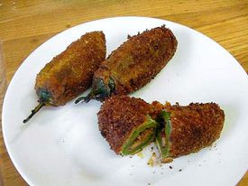 Stuffed jalapenos peppers