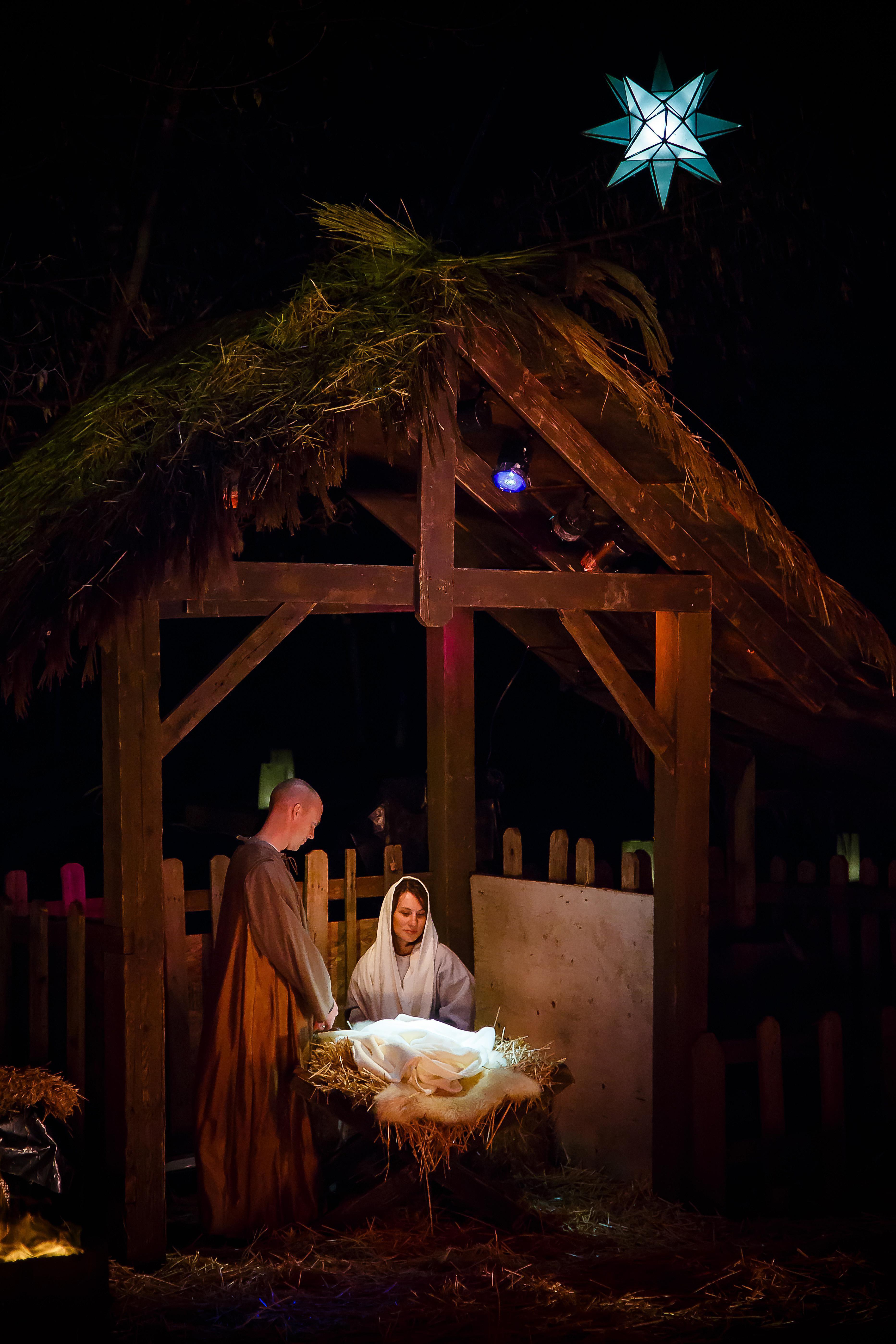 Live nativity in Salt Lake City