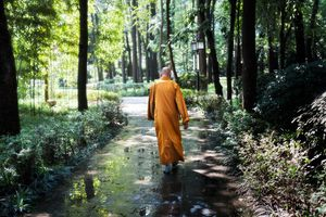 Monk in China