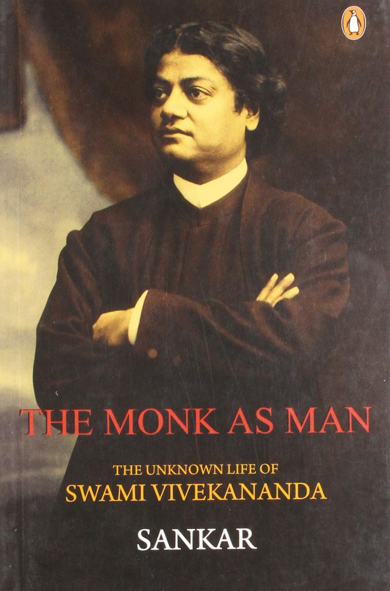 "The cover of ""The Monk As Man"""