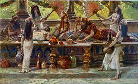 Esther Feasts with the King