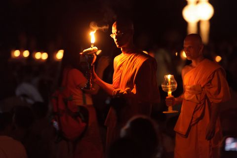Thai Buddhist Ceremony