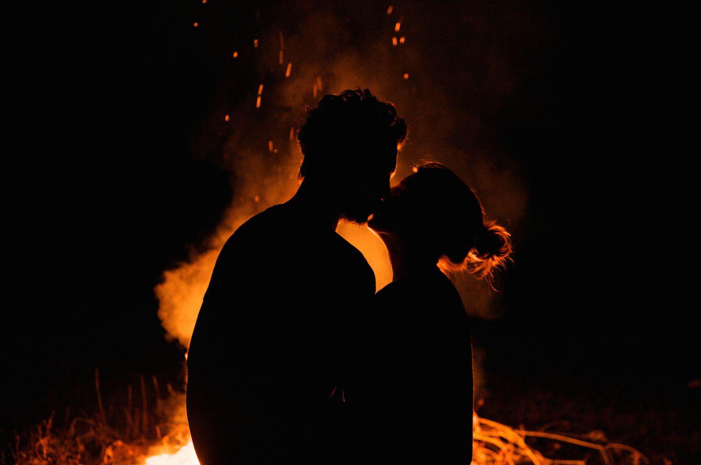 Bonfire Couple