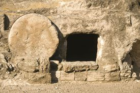 Jesus Tomb in Holy land