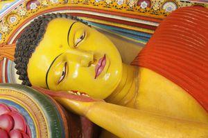 Reclining Buddha at Isurimuniya Temple, Sri Lanka
