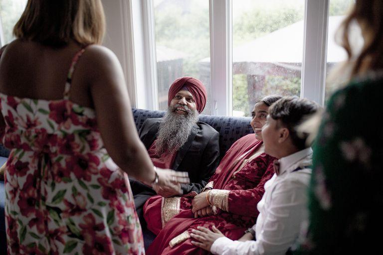 Sikh family