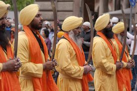 Sikhs Celebrate Nagar Kirtan
