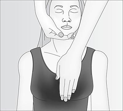 Reiki Hand Placement Pictures