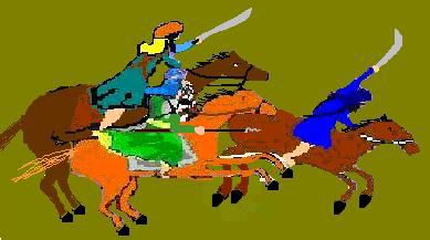 Sikh Warriors Charge