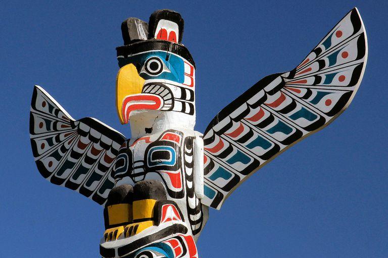 Eagle Totem Pole