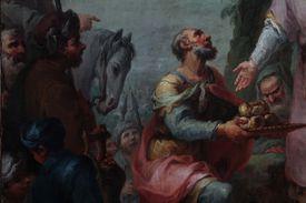 Melchizedek's Sacrifice, by Mauro Picenardi, 1787, 18th Century, oil on canvas