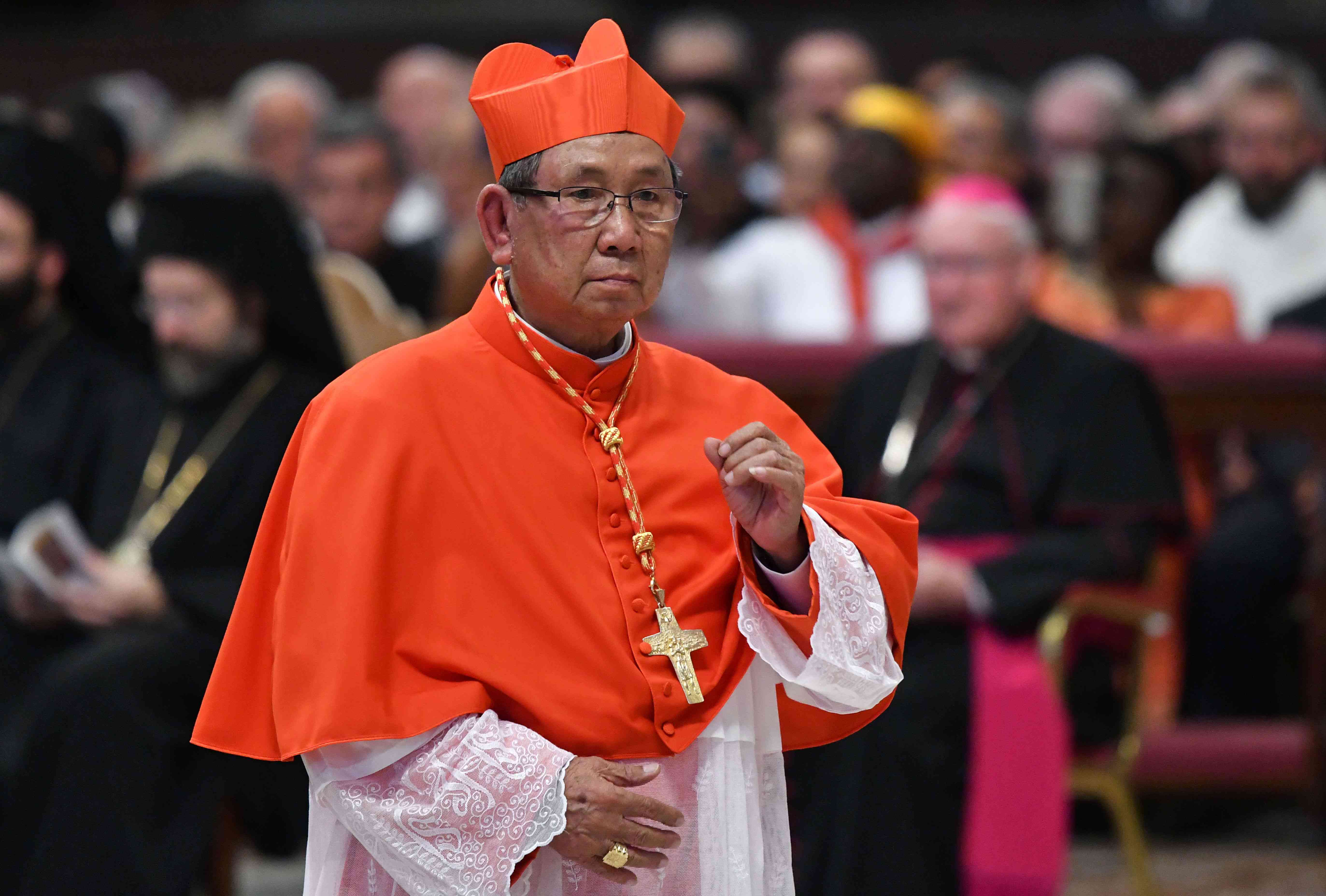 Apostolic vicar of Paksé Louis-Marie Ling Mangkhanekhoun from Laos