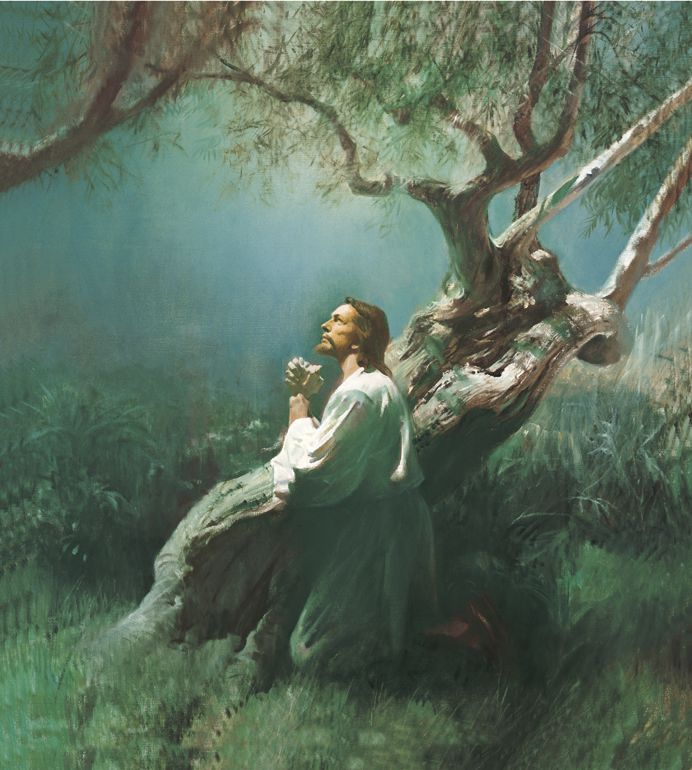 Jesus Christ in Gethsemane