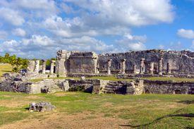 Tulum Ruins Against Sky