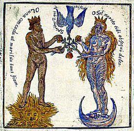 Red King and White Queen: the Rosarium Philosophorum
