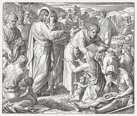 Feeding of the Five Thousand (John 6,1-15), published 1890