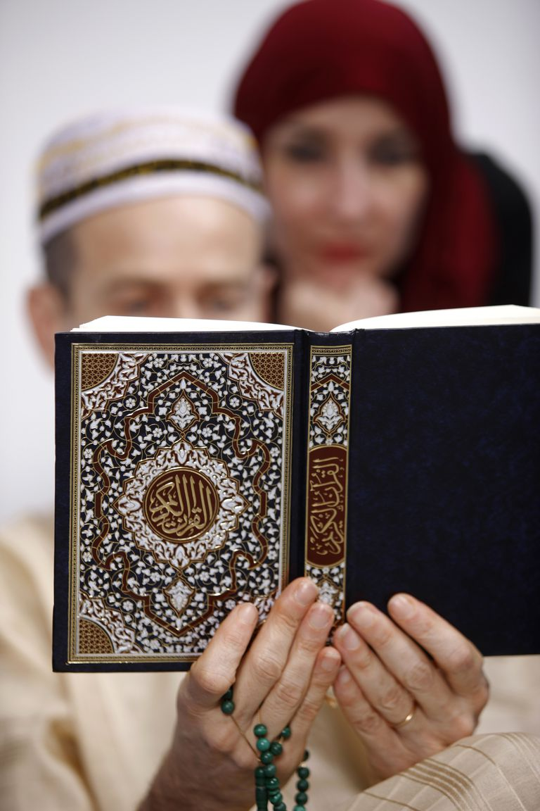 Family Reading Koran