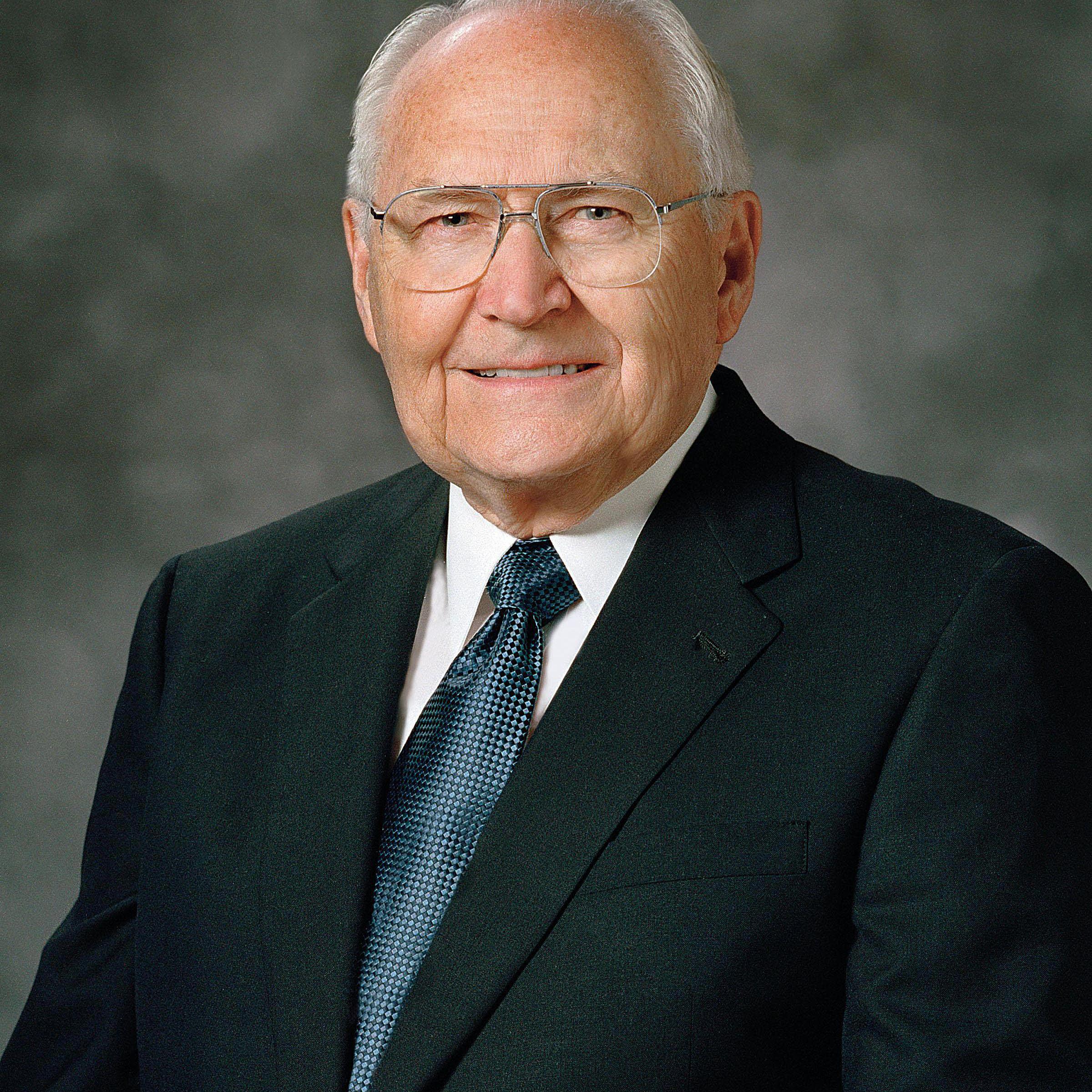 Elder L. Tom Perry, Quorum of the Twelve Apostles.