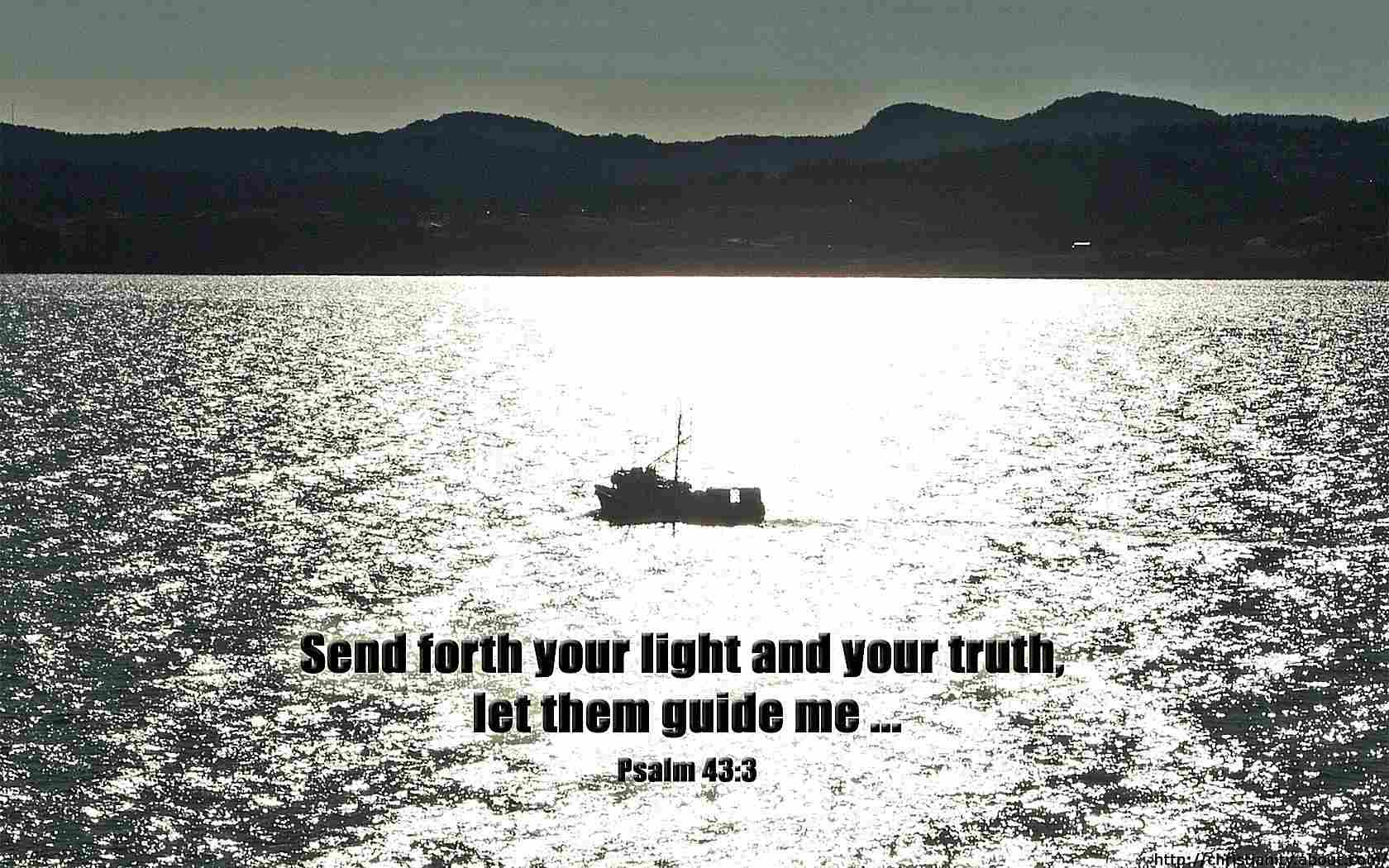 Light and Truth with bible verse