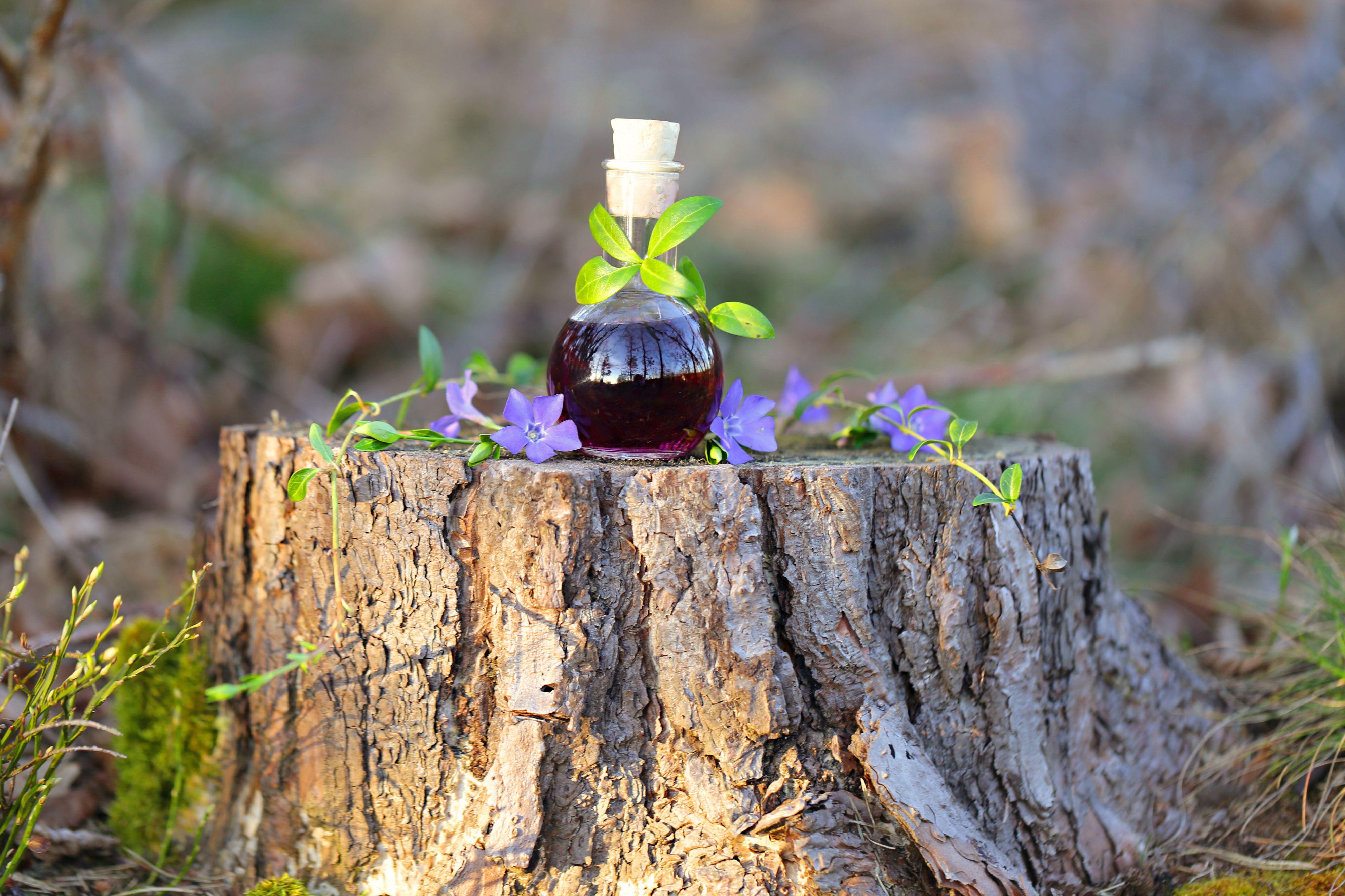 Potion in a bottle