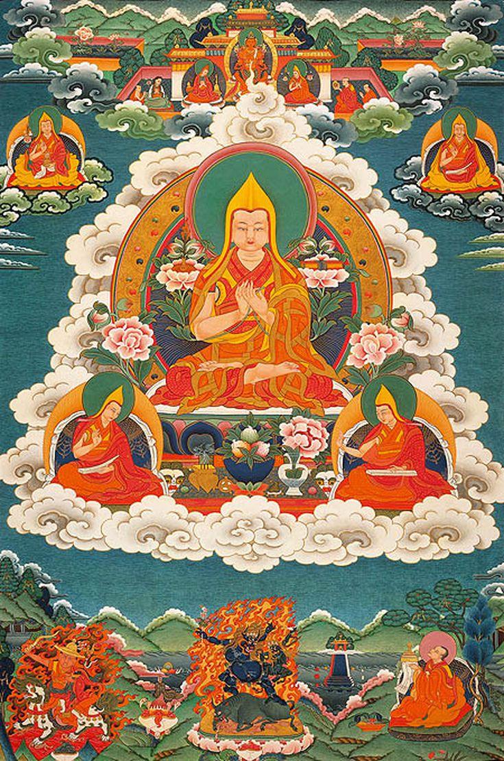 The first Dalai Lama