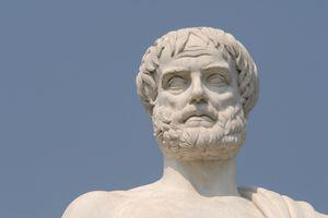 Aristotle, portrait of the philosopher