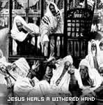 Jesus Heals a Man with a Withered Hand