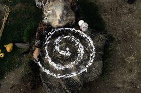 Making Circle of Energy During Ritual
