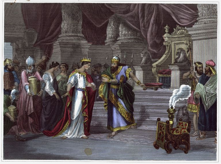 Queen of Sheba Visits Solomon
