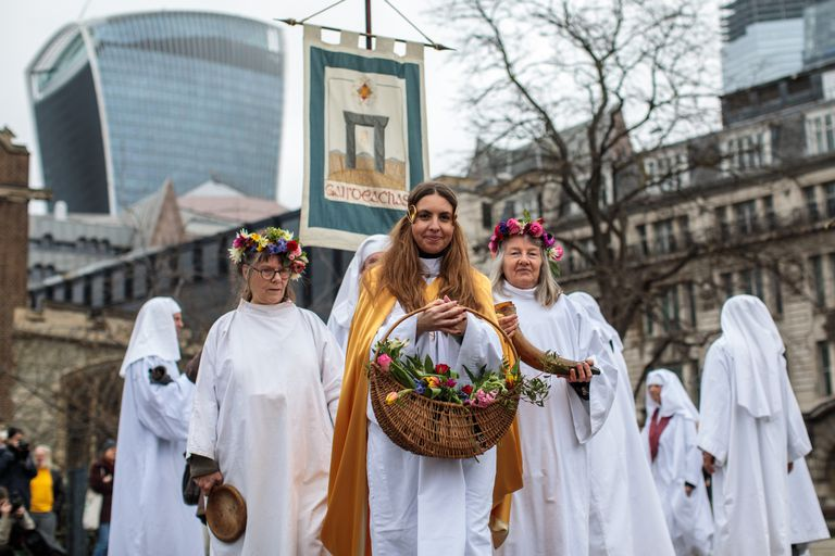 Druids Mark The Spring Equinox