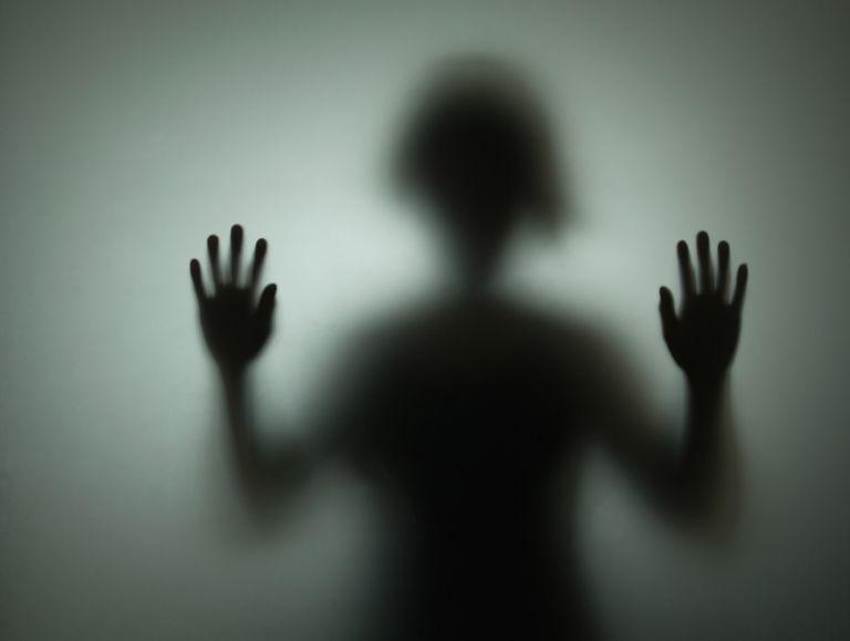 exorcism silhouette black figure person