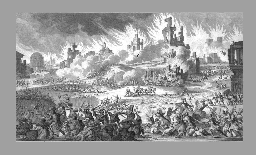 The Destruction Of Jerusalem And The Temple