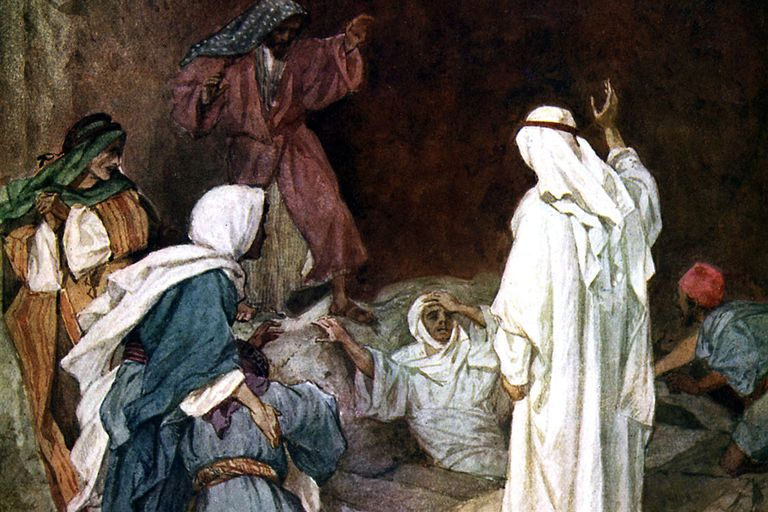 Raising Lazarus Bible Story