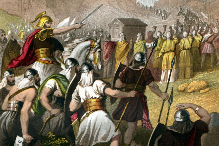 Conquering Canaan Land in the Book of Joshua