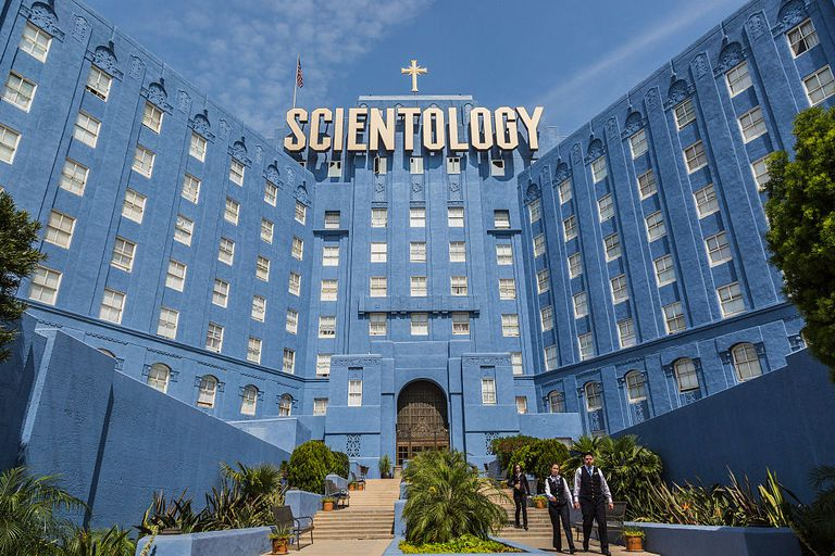 The Church of Scientology Building in Los Angeles
