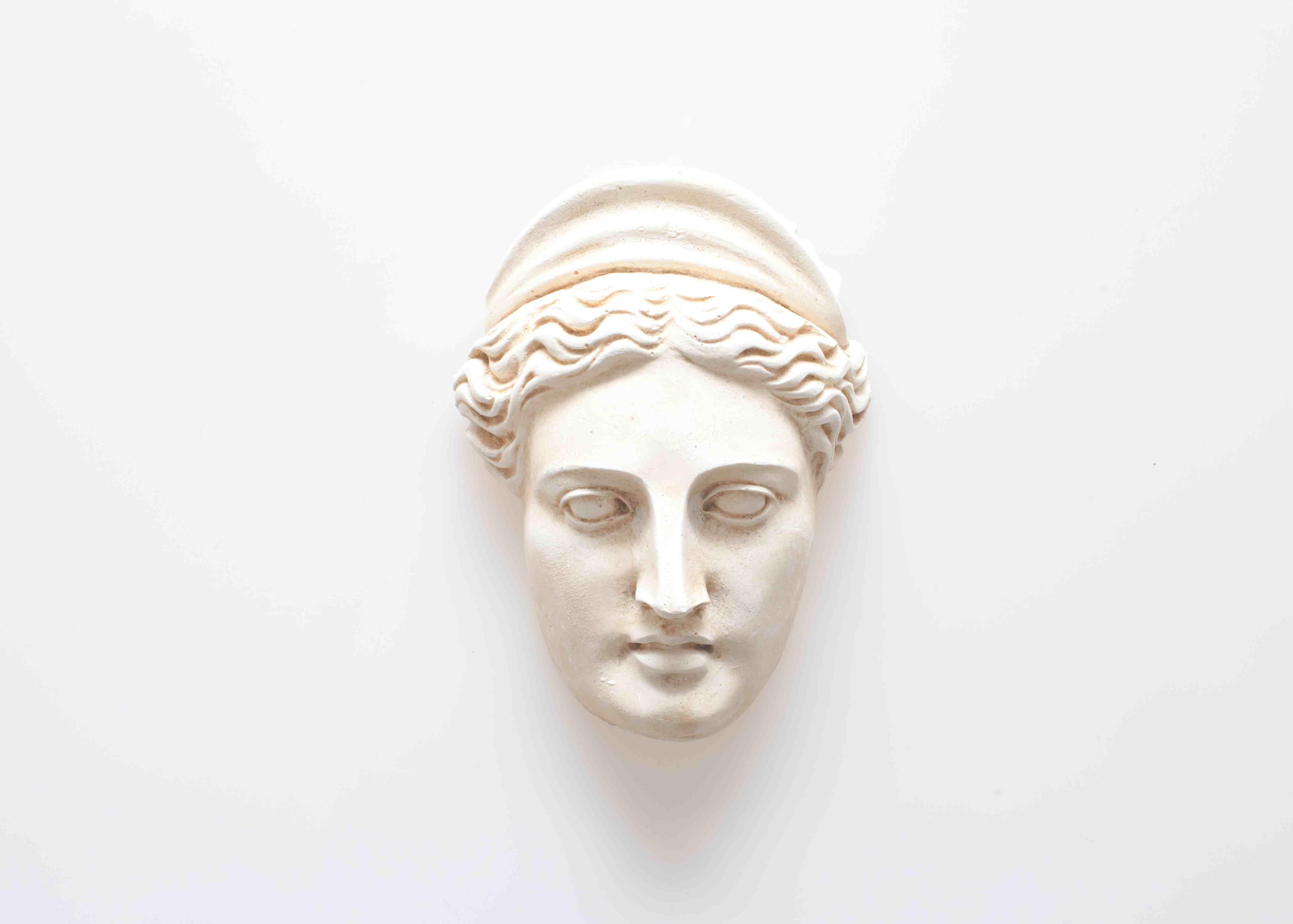 Head of Hera sculpture