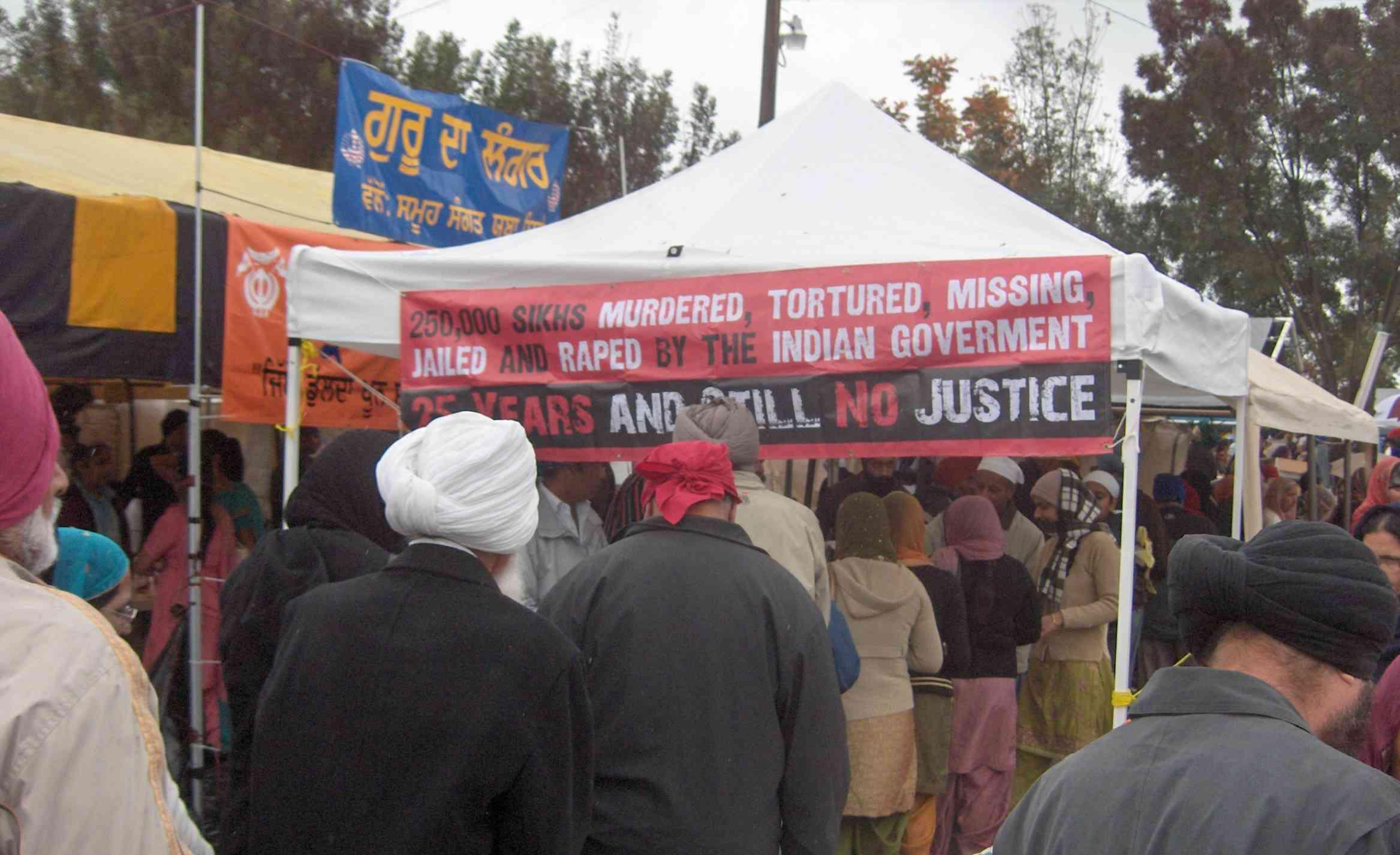 No Justice Banner