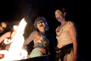 The Annual Beltane Fire Festival