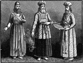 Sketch of high priests of the tabernacle.