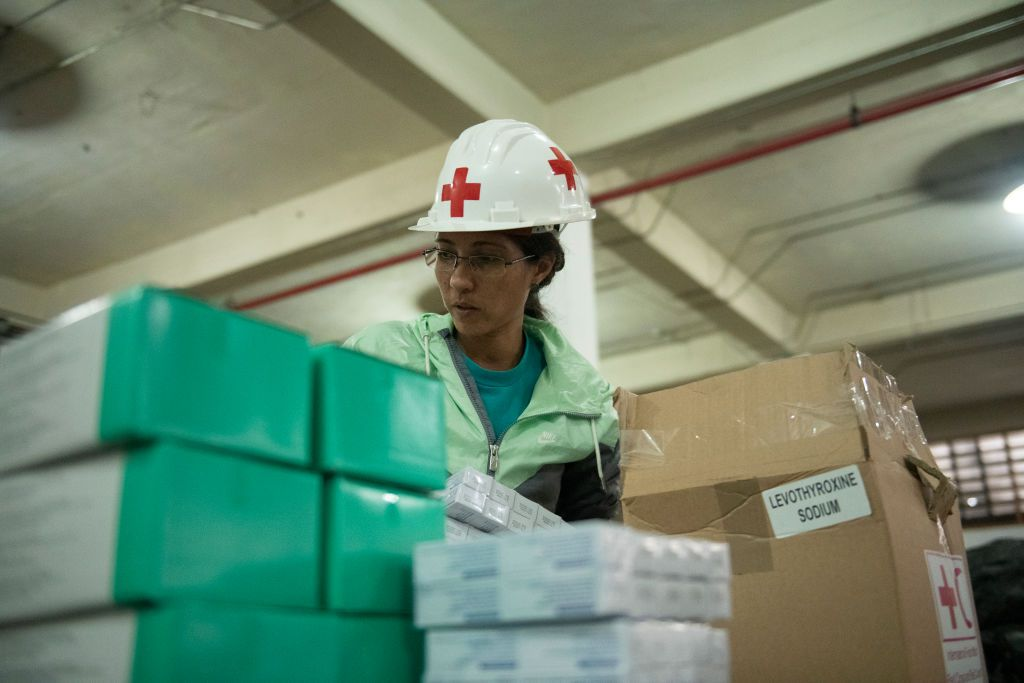 Red Cross Distributes Second Shipment of Aid in Venezuela