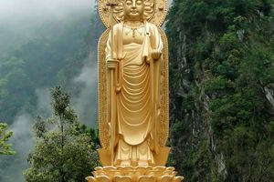 Ksitigarbha Bodhisattva, Hsiang-Te Temple, Tiangsan, Taiwan