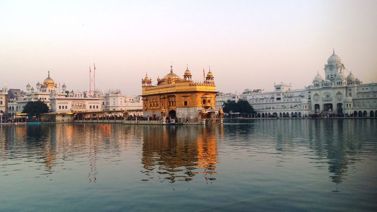 Golden Temple Darbar Sahib and Akal Takhat