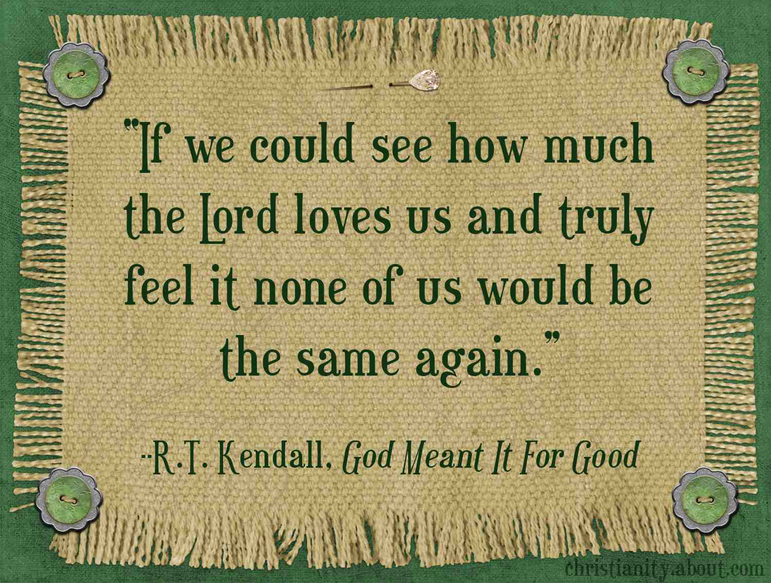 God's Unconditional Love is the Source of our Worth