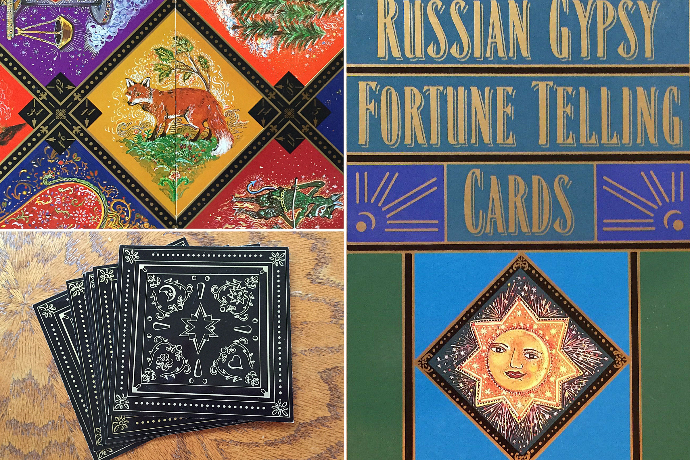 Russian Gypsy Fortune Telling Cards Layout and Reading
