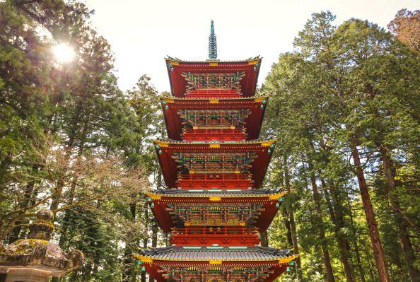 Pagoda at Nikko Tosho-gu Shrine