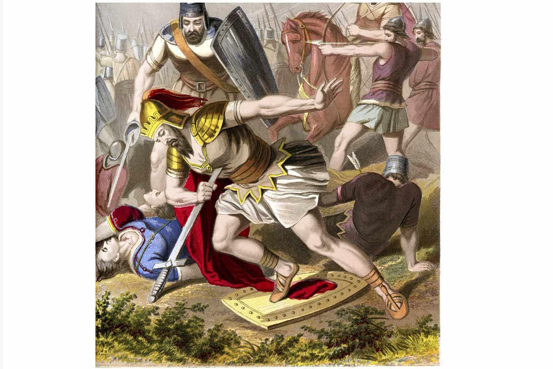 Death of King Saul