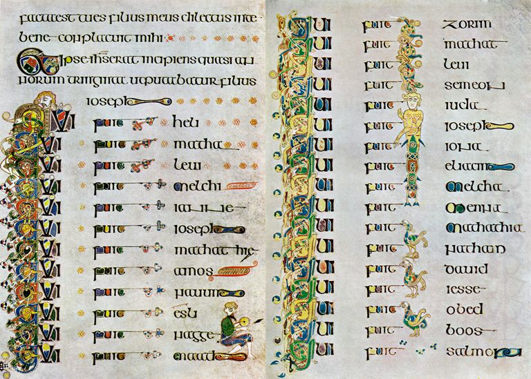 Genealogy of Jesus pare Matthew and Luke s Accounts